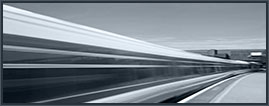 Image of a train in a high speed blur